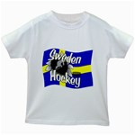 Sweden Hockey Kids White T-Shirt