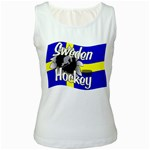 Sweden Hockey Women s Tank Top