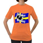 Sweden Hockey Women s Dark T-Shirt