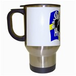 Sweden Hockey Travel Mug (White)
