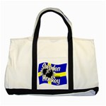 Sweden Hockey Two Tone Tote Bag