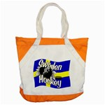 Sweden Hockey Accent Tote Bag