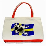 Sweden Hockey Classic Tote Bag (Red)