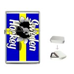 Sweden Hockey Flip Top Lighter