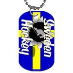 Sweden Hockey Dog Tag (Two Sides)