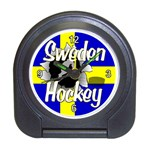 Sweden Hockey Travel Alarm Clock