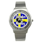 Sweden Hockey Stainless Steel Watch