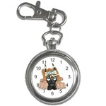 CF Pup space for rent Key Chain Watch