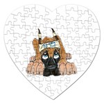 CF Pup space for rent Jigsaw Puzzle (Heart)