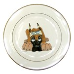 CF Pup space for rent Porcelain Plate