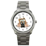 CF Pup space for rent Sport Metal Watch