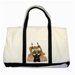 CF Pup space for rent Two Tone Tote Bag