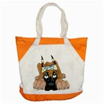 CF Pup space for rent Accent Tote Bag