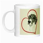 NMtlMrl Dots Heartline Night Luminous Mug