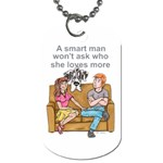 NH Smart Man Dog Tag (Two Sides)
