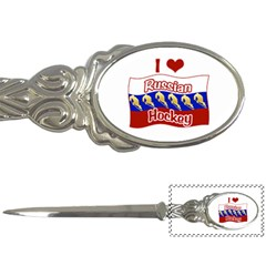 Russian Hockey Letter Opener by Hockeycrazy