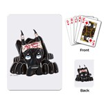 CBlk Pup space for rent Playing Cards Single Design