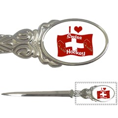 Swiss Hockey Letter Opener by Hockeycrazy