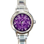 Heartagram1024x768 Round Italian Charm Watch
