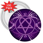 Heartagram1024x768 3  Button (100 pack)