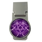 Heartagram1024x768 Money Clip (Round)