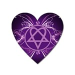 Heartagram1024x768 Magnet (Heart)
