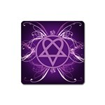 Heartagram1024x768 Magnet (Square)