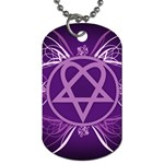 Heartagram1024x768 Dog Tag (One Side)