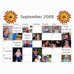 1 Year Calendar By Amanda   Wall Calendar 11  X 8 5  (18 Months)   I5inl9tlqrd8   Www Artscow Com Sep 2008