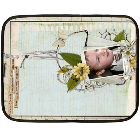 Fleece Blanket By Catvinnat   Fleece Blanket (mini)   K172uz3cr4tj   Www Artscow Com 35 x27 Blanket