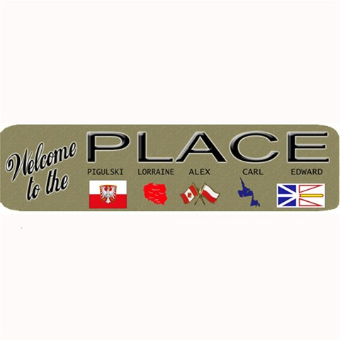 place  Mat By Gnose   Large Bar Mat   W91by8p8epdb   Www Artscow Com 34 x9.03 Bar Mat - 1