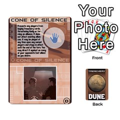 Queen Dune Treachery Cards Peter Redesign By Chris   Playing Cards 54 Designs   F1esnvsrb346   Www Artscow Com Front - SpadeQ