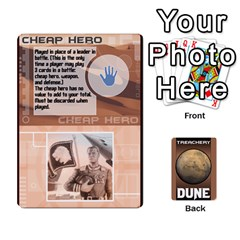 King Dune Treachery Cards Peter Redesign By Chris   Playing Cards 54 Designs   F1esnvsrb346   Www Artscow Com Front - HeartK