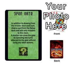 Doom Co Op Setup Deck By Jack Reda   Playing Cards 54 Designs (rectangle)   Gl65kmldc4ub   Www Artscow Com Front - Spade4
