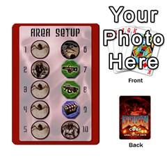 Queen Doom Co Op Setup Deck By Jack Reda   Playing Cards 54 Designs (rectangle)   Gl65kmldc4ub   Www Artscow Com Front - HeartQ