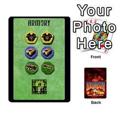 Doom Co Op Setup Deck By Jack Reda   Playing Cards 54 Designs (rectangle)   Gl65kmldc4ub   Www Artscow Com Front - Spade6