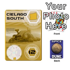 Dune Spice Deck By Chris   Playing Cards 54 Designs   Oe5ul2zb0idy   Www Artscow Com Front - Spade3