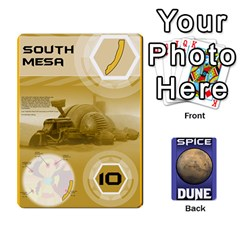Dune Spice Deck By Chris   Playing Cards 54 Designs   Oe5ul2zb0idy   Www Artscow Com Front - Spade4