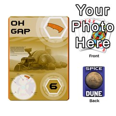 Queen Dune Spice Deck By Chris   Playing Cards 54 Designs   Oe5ul2zb0idy   Www Artscow Com Front - ClubQ