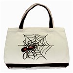 Spider in web Classic Tote Bag