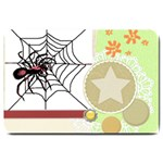 Spider in web Large Doormat