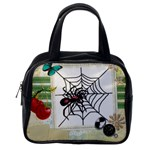Spider in web Classic Handbag (One Side)