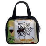 Spider in web Classic Handbag (Two Sides)