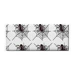 Spider in web Hand Towel