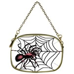Spider in web Cosmetic Bag (One Side)