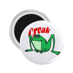 Croak frog 2.25  Magnet by zooicidal
