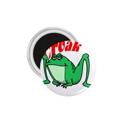 Croak frog 1.75  Magnet by zooicidal