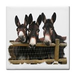 Three donks Face Towel