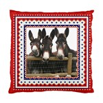 Three donks Cushion Case (Two Sides)