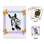 Donkey head Playing Cards Single Design